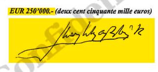 Estudio caligráfico de las firmas de Don Juan Carlos 9