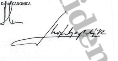 Estudio caligráfico de las firmas de Don Juan Carlos 7