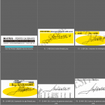 Estudio caligráfico de las firmas de Don Juan Carlos